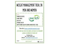 Weight Management Trial in Men & Women - looking for volunteers! Interested? Please contact us!