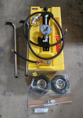 Fuel Caddy 932404ip Polyethylene Material 28 Gal Cap Used For Diesel