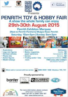 Penrith Toy and Hobby Fair Emu Plains Penrith Area Preview