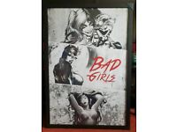 DC Bad girls poster