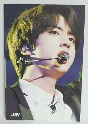 KPOP BTS Bangtan Boys JIN Post Card Made In Korea Special Photo Card No.10