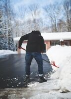 Snow removal salting (Driveways and walkway) Durham Region