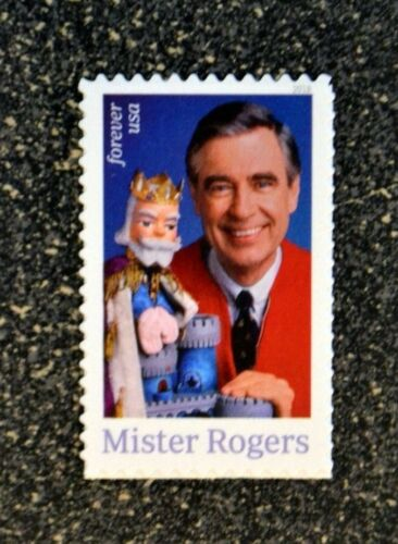 2018USA #5275 Forever Mister Rogers - Single Postage Stamp  Mint NH  Mr.