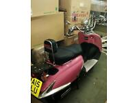 125cc pink scooter