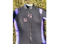NEW LADIES NORTHERN DIVER WINTER 5MM WETSUIT XL - APPROX 16
