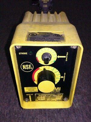Lmi Milton Roy Chemical Metering Pump A151-398ti 1 Gph 110 Psi