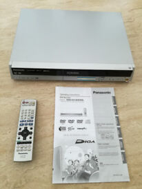 Panasonic DVD Recorder (DMR-ES10) Complete with Remote and Instruction Manual