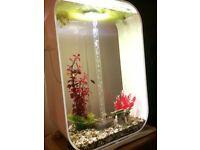 Biorb Life 60 Litre Aquarium White in Very Good Condition