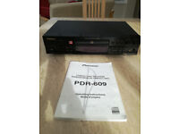 Pioneer PDR-609 Much Sought After CD Recorder - Complete With Original Handbook