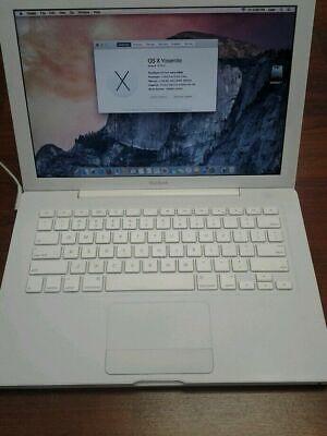 "Apple A1181 MacBook 13.3"" Laptop Core 2 Duo 2Ghz 4GB RAM 160GB HDD 10.11"
