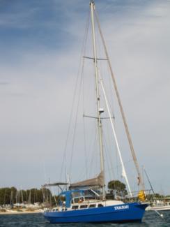 Yacht Adams Cutter 40 steel