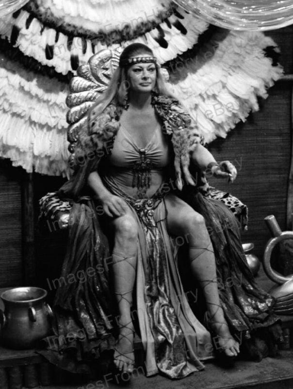 8x10 Print Anita Ekberg Gold of the Amazon Women 1979 #AE75