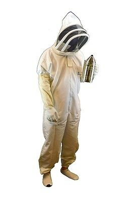Professional-grade Bee Suit Beekeeper Suit With Gloves -xlarge Size
