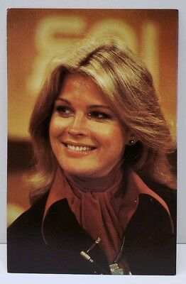 Candice Bergen Celebrity Personality 1979 Photo Postcard A19