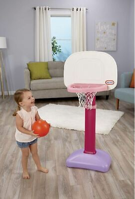 Basketball Hoop For Kids Girls Toddler Gifts Sports Toy Pink Indoor Outdoor Fun](Toddler Basketball Hoop)