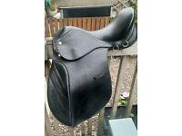 """16""""pony saddle medium leather"""