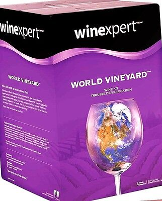 Winexpert World Vineyard Italian Sangiovese (Chianti) Wine Ingredient Making Kit