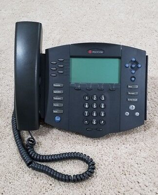Polycom Soundpoint Ip 601 Sip Voip Poe Business Phone 2201-11601-001