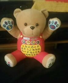 Talking bear