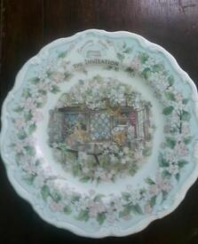 """ROYAL DOULTON BRAMBLY HEDGE """"THE INVITATION"""" SURPISE OUTING"""