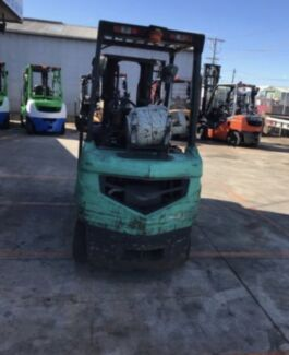 Mitsubishi 1.8 tonne Container Mast Forklift -REDUCED TO SELL-