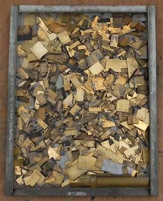 Messinglinien Bleisatz Buchdruck Handsatz Messing Linien Druckerei imprimerie
