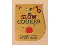Slow Cooker cookbook. BRAND NEW RRP £12