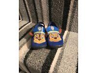 Paw patrol slippers (brand new)