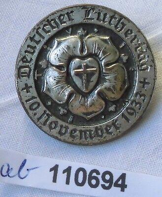 altes Abzeichen Deutscher Luthertag 10.November 1933 (110694)
