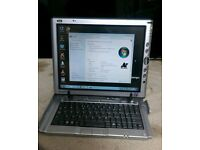 MOTION COMPUTING WINDOWS 7 TABLET WITH 20GB HDD 1.25GB RAM WITH INTEL PENTIUM M PROCESSOR 1.10GHZ.