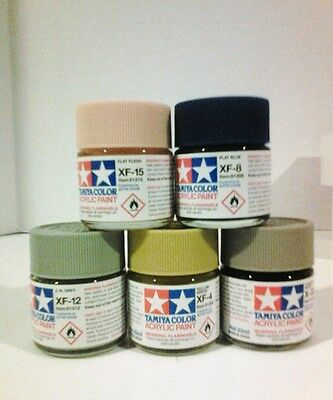 Tamiya acrylic paint. 23ml BUNDLE!! Pick any 5.
