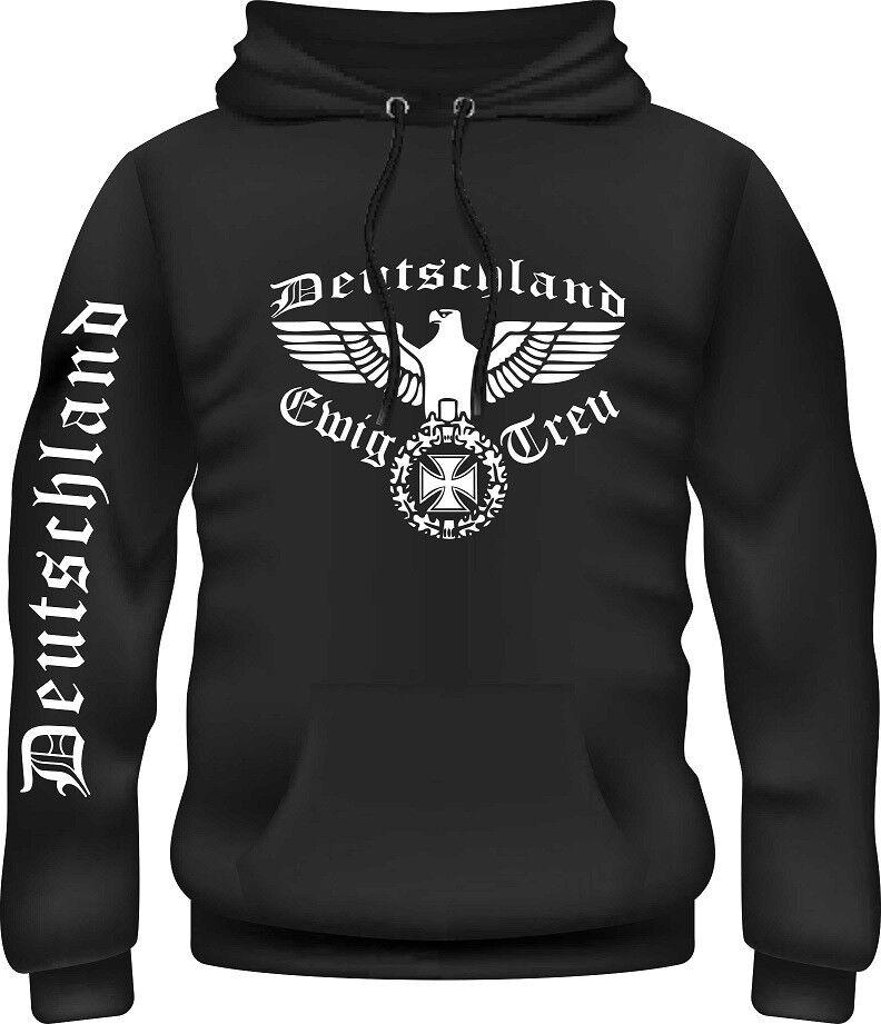 Kapuzensweatshirt,Pullover,Reichsadler,Deutsches Reich,Panzer,Wehrmacht,EwigTreu