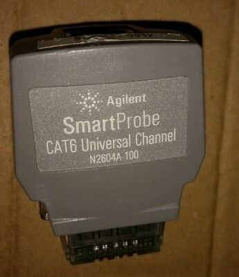 Hp Agilent N2604a-100 Smartprobe Cat6 Channel For Wirescope 350