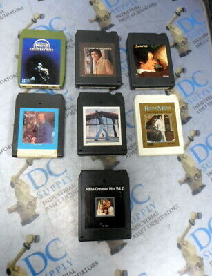 BARRY WHITE BILLY JOEL ABBA & OTHER 8 TRACKS LOT OF 7