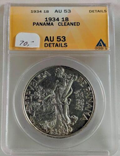 1934 Panama 1 Balboa