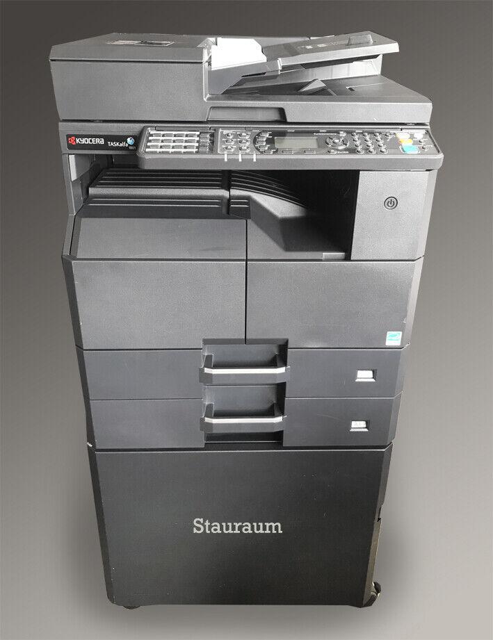 Kyocera TASKalfa 1801 s/w Multifunktionsdrucker s/w A3 Kopierer SW Fax Scanner
