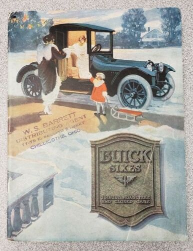 1916 Buick Sales Catalog