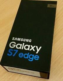 Samsung Galaxy S7 Edge - Brand New & Boxed & Sealed Unlocked.