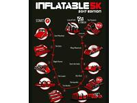 Inflatable 5k chepstow, 23rd April