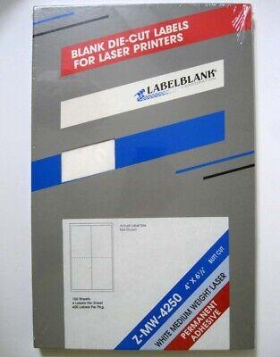 LabelBlank ® Z-MW-4250 100 Sheets 4