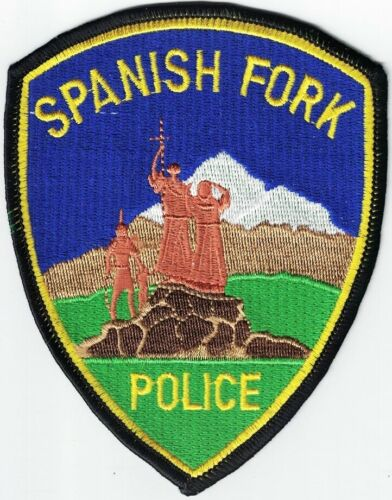Spanish Fork Police Utah Police Patch