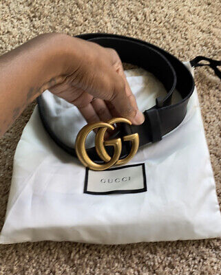 NWOT Gucci Marmont Womens Leather Belt Size 75cm
