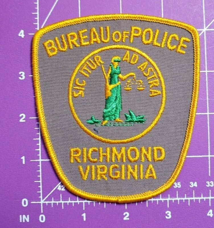 Richmond Virginia Bureau of Police-shoulder patch