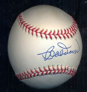 Bobby Doerr Autographed OF AL baseball Perfect Boston Red Soxs