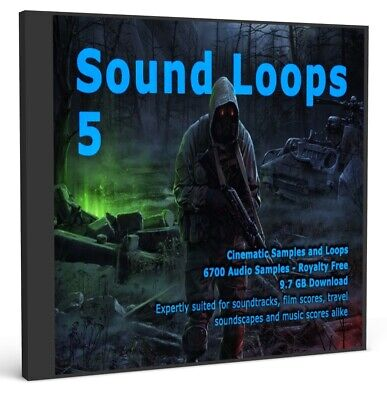 Sound Loops 5 Cinematic Collection 5000 WAV Loops Music Sample Packs Studio Acid Acid Music Studio Loops
