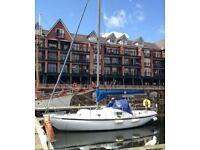 Wing 25 Sailing Yacht/Boat/Cruiser