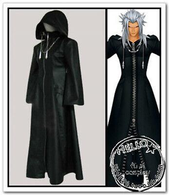 Anime Organization XIII 13 Of Kingdom Hearts II 2 Umhang Outfit Cosplay - Organisation Xiii Kostüm