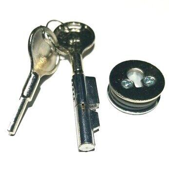 Sliding Glass Door Showcase Display Cabinet Lock With 2 Keys Alike 503