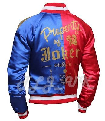 Harley Quinn Suicide Squad Bomber womens Ladies Halloween Stylish Jacket Cosplay