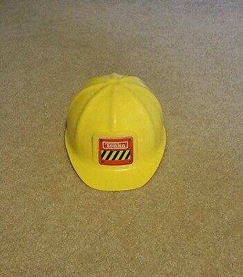 Tonka Yellow Construction Hard Hat Halloween Costume Accessory Child Kids Size